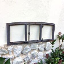 Scheunenfenster mit Klappe - Eisenfenster Klappladen Antik