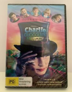 Charlie And The Chocolate Factory (DVD, 2006) BRAND NEW Region 4