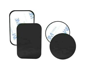 Magnetic Car Mobile Phone Holder Replacement Metal Plates Set Vent Universal