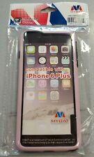 iPhone 6+ (Plus) Pink/Black Protective Bumber Case #10C
