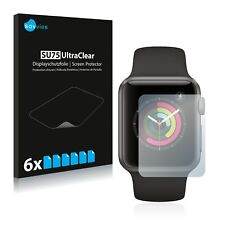 6x Screen Protector for Apple Watch Series 1 (38 MM) Clear Screen Protector
