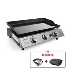 Royal Gourmet 3-Burner 27,000-BTU Portable Gas Grill Griddle PD1300