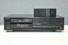 SONY CDP-591 CD-Player mit Fernbedienung  Top Zustand