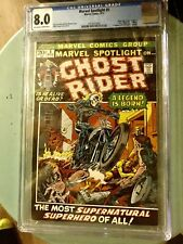 MARVEL SPOTLIGHT #5 CGC 8.0 (VF) (1ST APP GHOST RIDER JOHNNY BLAZE)🔥NEW MOVIE