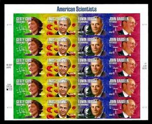 1¢ WONDER'S ~ 2007 MNH SOUVENIR SHEET W/ 41¢ AMERICAN SCIENTISTS (FV=$8.20) ~S43
