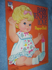 1971 Whitman- Baby Tender Love Paper Doll #1960