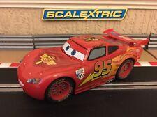 Scalectric Disney/Pixar Saetta McQueen 95 * senza confezione rara *