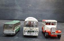 Matchbox 1986 IKARUS COATCH-Corgi River Valley Bus-Bedford VAL Plaxton Bus