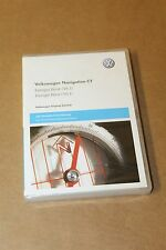 VW Volkswagen SKODA RNS 510 V10 SAT NAV West Europa Map Disc DVD Navigation V7
