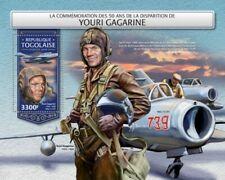 Togo - 2018 Cosmonaut Yuri Gagarin - Stamp Souvenir Sheet - TG18220b