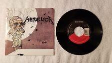 "METALLICA One / The Prince (Rare B-Side) PROMO 7"" Vinyl Single 45 PICTURE SLEEVE"
