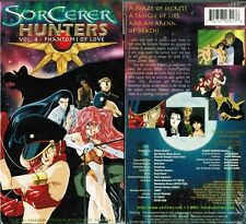 Sorcerer Hunters Vol 4 Phantoms of Love Anime VHS Video Tape New English Subbed