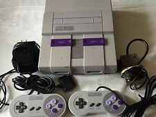 Super Nintendo System Game Console + TWO CONTROLLERS, Cords, SNES *SHIPS ASAP*