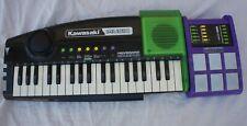 Vintage 90s Kawasaki Music Electronic Keyboard Drumpad Toy Instrument Drum Synth