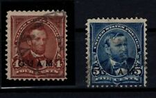 P131561/ GUAM STAMPS / US POSSESSION / SCOTT # 4 - 5 USED CV 220 $
