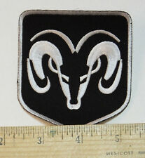 """Dodge Ram Iron-on Embroidered Patch 3x3.5"""""""