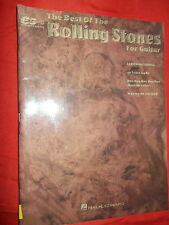 The Best of the Rolling Stones for Guitar 1972-1991 : With Notes and Tablature