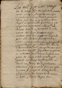 1726 Champlitte Venta Vignes Boigey Lavoignet Chamerande Tropet Paufert Champion