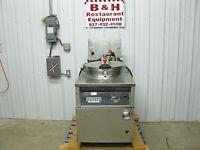 BKI Industries Electric Chicken Fish Pressure Fryer w/o Filter System FKM-FC