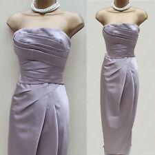 KAREN MILLEN Champagne Cocktail Gala Wedding Long Ballgown Maxi Dress 8 UK EU 36