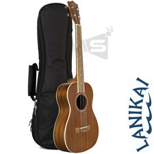 LANIKAI M-SERIES MA-B BARITONE UKULELE WITH PADDED GIG BAG + D'ADDARIO STRINGS