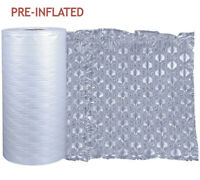 Extra Large Bubble Wrap Air Cushions Roll, Packaging, Removals, Moving, Inflated