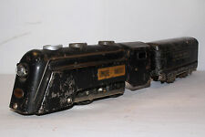 Marx Electric 1940's New York Central Commodore Vanderbilt Engine & Tender Lot 5