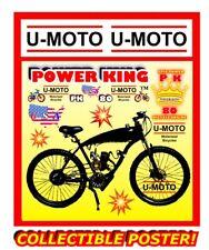 66cc/80Cc 2-Stroke Diy Motorized Bike Engine Kit And 26� Bike Diy Promo Poster