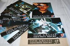 MINORITY REPORT ! spielberg cruise jeu 8 photos cinema lobby cards fantastique