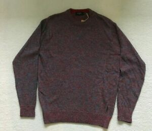 Paul Smith Red and blue Marl Flecked Sweater