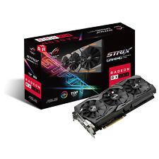 Componente PC ASUS grafica Rog-strix-rx580-t8g-ga