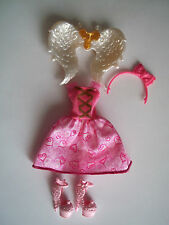 Ever After High EAH Birthday Ball CA Cupid Outfit Clothes Dress Shoes Wings