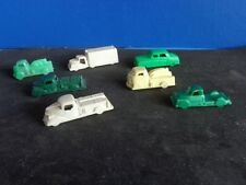 GROUP OF VINTAGE PLASTIC TOY VEHICLES- TRUCKS & CARS