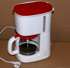 Severin KA 4212 508 Kaffeeautomat Glaskanne Warmhalteplatte 10Tas 1L 1000W Rot
