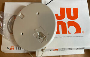 3 NEW Juno Track Lighting T58WH Low Voltage Monopoint Track Head Adaptors White