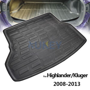 Cargo Liner Boot Tray Rear Trunk Floor Mat For Toyota Kluger XU40 2008-2013