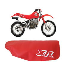 HONDA XR600R XR 600 R 1989 MODEL MOTORCYCLE SEAT COVER IN RED