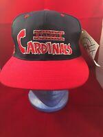 VINTAGE St. Louis Cardinals Snapback Fit Hat Cap Annco Pro Model MLB New/Tag