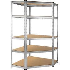 More details for 5 tier boltless garage workshop corner storage racking shelving shelves 875kg