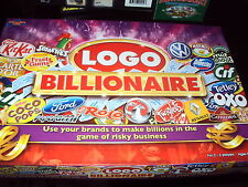 IDEAL XMAS FAMILY CARD BOARD GAME LOGO BILLIONAIRE DRUMMOND PARK COMPLETE VGC