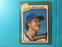 1980 TOPPS ROBIN YOUNT CARD #265 MILWAUKEE BREWERS