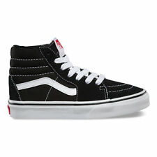 592f63bdc0 Youth VANS Sk8-hi Kids Vn000d5f6bt Black True White Suede Canvas Sneaker Sz  12