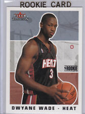 DWYANE WADE 2003/04 ROOKIE CARD Fleer Tradition RC Miami Heat Basketball DWAYNE