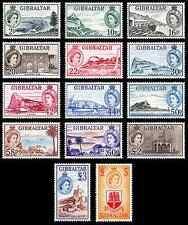 "Gibraltar - 2013 "" 60 Years 1st Stamp Definitive Of QE II 1953"" Set"