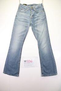 Lee Felton Bootcut (Cod.W336) Tg41 W27 L32 jeans usato Vita Alta vintage zampa