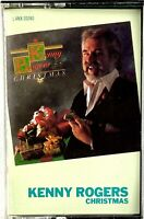 KENNY ROGERS Christmas Holiday Cassette Tape 1981 Liberty Records VG Condition