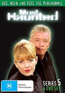 MOST HAUNTED DVD Season 5 SERIES FIVE - Ghost Haunting Supernatural TV Show RARE