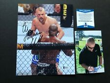Chuck Liddell Rare! signed autographed UFC MMA 8x10 photo Beckett BAS coa