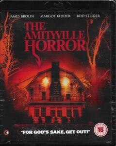 The Amityville Horror Blu Ray (Original Version) Region B Inc Registered Post