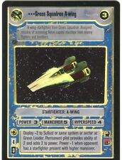 Star Wars CCG Reflections II Foil Green Squadron A Wing